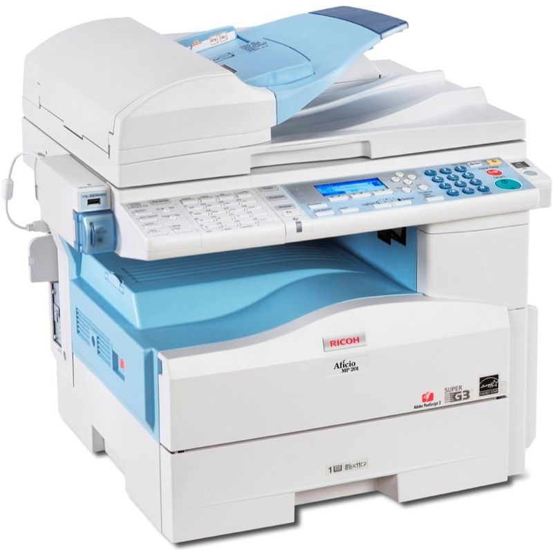 Ricoh Desktop Photocopier Machine in Karachi MP 201